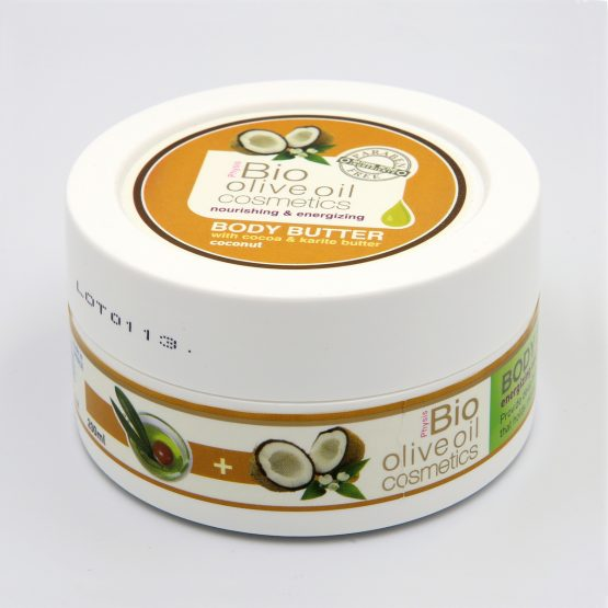 Coconut Body Butter with cocoa and karite butter