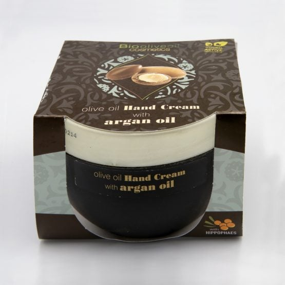 Olive Oil Hand Cream with Argan Oil