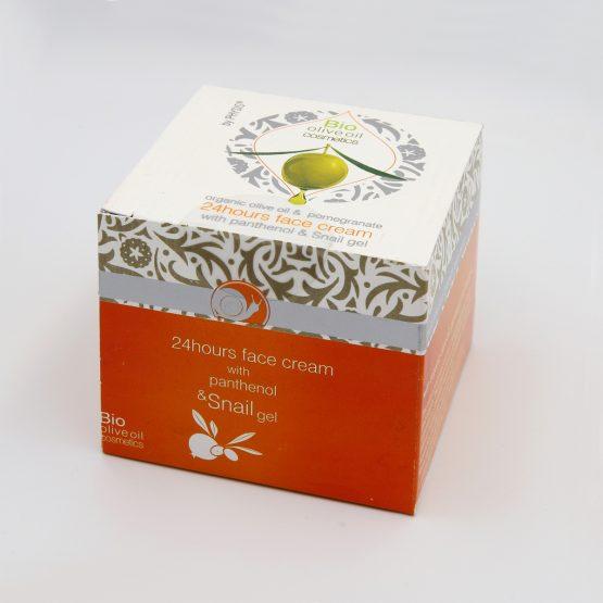 Face Cream with Panthenol & Snail gel