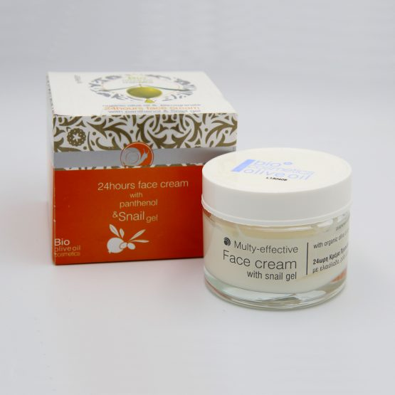 24 Hours Face Cream with Panthenol and Snail gel