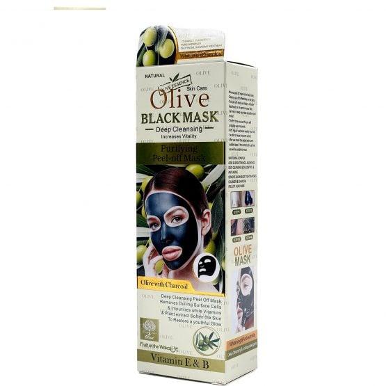 Olive Black Peel Off Mask for face