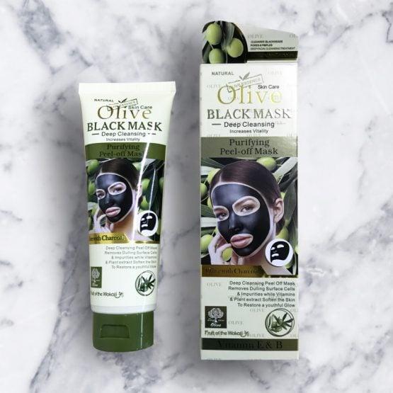 Olive Black Peel Off Mask Wokali